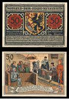 Picture of Германия •  Нойштаттен 1921 г. • 50 пфеннигов • судебное заседание • локальный выпуск • UNC пресс