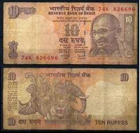 Bild von Индия 2006 г. P# 95 • 20 рупий • Махатма Ганди • регулярный выпуск • VF-