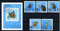 Picture of Мадагаскар 1990 г. SC# 987-92 • лемуры • Used(ФГ) XF • полн. серия+блок