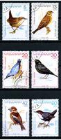 Picture of Болгария 1988 г. SC# 3281-6 • птицы • Used(ФГ) XF • полн. серия
