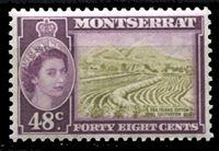 Image de Монтсеррат 1953-62 гг. Gb# 145a • Елизавета II основной выпуск • 48c. • плантация хлопка • MNH OG XF ( кат.- £15 )