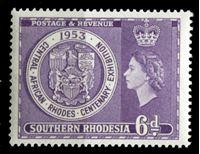 Image de Южная Родезия 1953 г. Gb# 76 • 6d. • Выставка к 100-летию Сесиля Родса • MNH OG XF