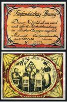 Изображение Германия •  Штедезанд 1920 г. • 75 пфеннигов • женские посиделки • локальный выпуск • UNC-