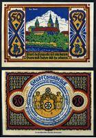 Picture of Германия •  Оснабрюк 1921 г. • 50 пфеннигов • замок в лесу • локальный выпуск • UNC пресс