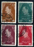 Изображение СССР 1937 г. Сол# 552-5 • Ф. Э. Дзержинский • 60 лет со дня рождения • Used VF • полн. серия
