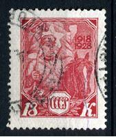 Image de СССР 1928 г. Сол# 305 • 10 лет РККА и ВМФ • Кавалерист • 18 коп. • Used XF