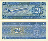Изображение Голландские Антилы 1970 г. P# 21 • 2 1/5 гульдена • UNC-UNC пресс