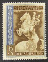 Image de Германия 3-й рейх  • Восточные Земли 1942 г. Mi# 821 • 6+14 пф • Европейский почтовый конгресс • Mint NG VF