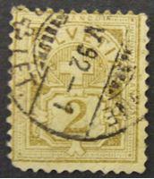 Image de Швейцария 1906 г. Mi# 82 • 2 с. • Крест на щите • Used VF ( кат.- €2,5 )