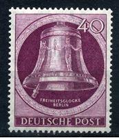 Изображение Западный Берлин 1951 г. Mi# 79 • 40 pf. • Колокол Свободы (1-й выпуск) • MNH OG XF ( кат.- €15 )