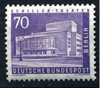 Изображение Западный Берлин 1956 г. Mi# 152 • 70 pf. • Архитектура города (основная марка выпуска!) • стандарт • MLH OG XF ( кат.- €15 )