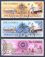 Image de Гамбия 1966-67 гг.  • Юбилеи и события (3 марки) • Used XF