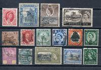 Image de Британские колонии • XX век • лот 15 разных старинных марок • Used VF