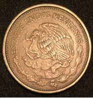 Изображение Мексика 1988 г. KM# 493 • 100 песо • Венустиано Карранса • регулярный выпуск • XF-