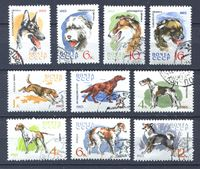 Изображение СССР 1965 г. Сол# 3162-71 • Породы собак • Used(ФГ) XF • полн. серия