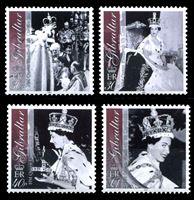 Изображение Гибралтар 2003 г. SC# 924-7 • 50-летие Коронации Елизаветы II • MNH OG XF • полн. серия ( кат.- $10 )