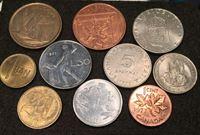 Bild von Иностранные монеты • лот 10 разных монет без обращения • регулярный выпуск • BU