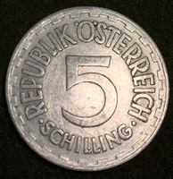 Изображение Австрия 1952 г. • KM# 2879 • 5 шиллингов • регулярный выпуск • BU- ( кат.- $15,00 )