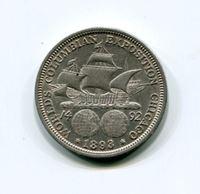 Image de США 1893 г. KM# 117 • 50 центов • памятный выпуск • UNC
