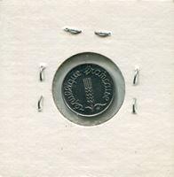 Image de Франция 1965 г. KM# 928 • 1 сантим • UNC