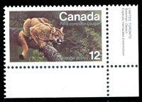 Image de Канада 1977 г. SC# 732 • 12c. • фауна Канады (рысь) • MNH OG XF+