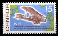 Image de Канада 1969 г. SC# 494 • 15c. • 50-летие первого трансатлантического беспосадочного перелета • MNH OG XF