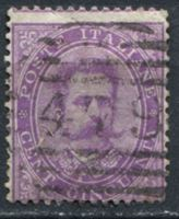 Picture of Италия 1879 г. SC# 50 • 50 c. • Умберто I • Used XF ( кат.- $25 )