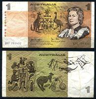 Изображение Австралия 1974 г. (1979) P# 42c • 1 доллар • регулярный выпуск • VF-