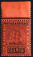 Bild von Британская Гвиана 1900-1903 гг. Gb# 235 • 2c. • Парусный фрегат • MNH OG XF+ ( кат.- £2 )