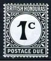 Bild von Британский Гондурас 1923 г. Gb# D1 • 1c. • служебный выпуск • MNH OG XF ( кат.- £3 )