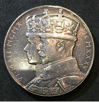 Picture of Великобритания 1935 г. • Серебряный юбилей правления Георга V (серебро 925) • медаль • AU