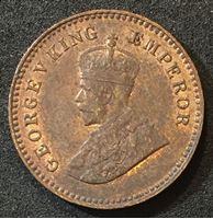Picture of Британская Индия 1915 г. • KM# 509 • 1/12 рупии • Георг V • регулярный выпуск • MS BU