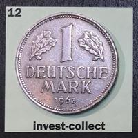 Picture of Германия ФРГ 1963 г. G (Карлсруэ) • KM# 110 • 1 марка • регулярный выпуск • XF-AU ( кат.- $25,00 )