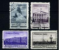 Изображение СССР 1947 г. Сол# 1223-6 • Виды Ленинграда • Used VF • полн. серия
