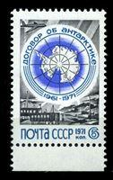 Bild von СССР 1971 г. Сол# 4010 • 6 коп. • 10-летие Договора об Антарктике • стандарт • MNH OG XF+