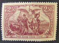 Изображение Германия 1920 г. • Mi# 115 • Объединение Севера и Юга Германии. Аллегория • MNH OG XF+