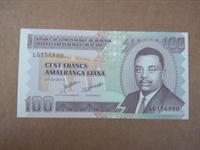 Image de Бурунди 2010 г. • 100 франков • регулярный выпуск • UNC