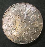 Изображение Австрия 1960 г. • KM# 2890 • 25 шиллингов • 40-летие плебисцита в Каринтии • памятный выпуск • BU