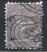 Bild von Австралия • Новый Южный Уэльс 1889-1889 гг. Gb# 253 • 1 d. • вид на Сидней • Used VF