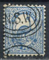 Bild von Австралия • Новый Южный Уэльс 1889-1889 гг. Gb# 254 • 2 d. • страус эму • Used XF