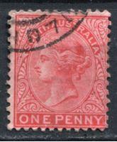 Bild von Австралия • Квинсленд 1904 г. Gb# 179 • 1 d. • Королева Виктория • Used VF