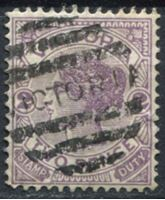 Bild von Австралия • Виктория 1886-1896 гг. Gb# 314 • 2 d. • Королева Виктория • Used XF