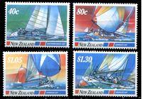Bild von Новая Зеландия 1992 г. SC# 1085-8 • 40 c. - 1.30$ • Парусная спорт. Кубок Америки • яхты • MNH OG XF • полн. серия ( кат.- $6 )