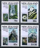 Изображение Новая Зеландия 1987 г. SC# 876-9 • Национальные парки • MNH OG XF • полн. серия ( кат.- $6 )