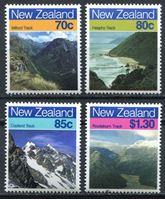 Изображение Новая Зеландия 1988 г. SC# 903-6 • Виды и ландшафты страны • MNH OG XF • полн. серия ( кат.- $6 )