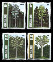 Bild von Новая Зеландия 1989 г. SC# 956-9 • Деревья Новой Зеландии • MNH OG XF • полн. серия ( кат.- $6 )