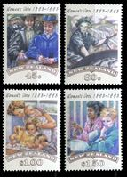 Изображение Новая Зеландия 1993 г. SC# 1151-4 • 45 c. - 1.50$ • 100-летие движения суфражисток • MNH OG XF • полн. серия ( кат.- $6 )