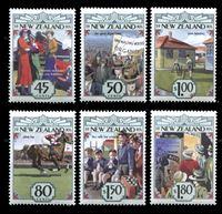 Изображение Новая Зеландия 1993 г. SC# 1145-50 • 45 c. - 1.80$ • Эпоха становления страны • 1930-е • MNH OG XF • полн. серия ( кат.- $10 )
