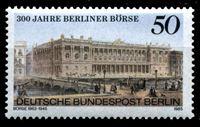 Picture of Западный Берлин 1985 г. Mi# 740 • 50 pf. • 300-летие берлинской биржи • MNH OG XF ( кат.- €1,4 )