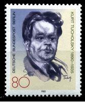 Image de Западный Берлин 1985 г. Mi# 748 • 80 pf. • писатель Курт Тухольский • 50 лет со дня смерти • MLH OG XF ( кат.- €2 )
